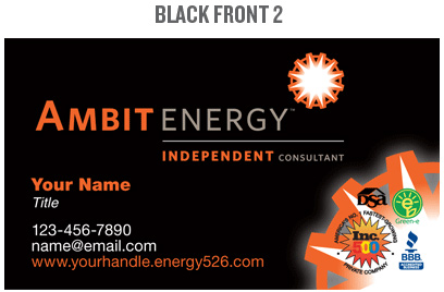 ambit energy business card template ambit energy business card template image collections