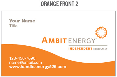 MPower Team Ambit Energy Business Cards - Ambit energy business card template